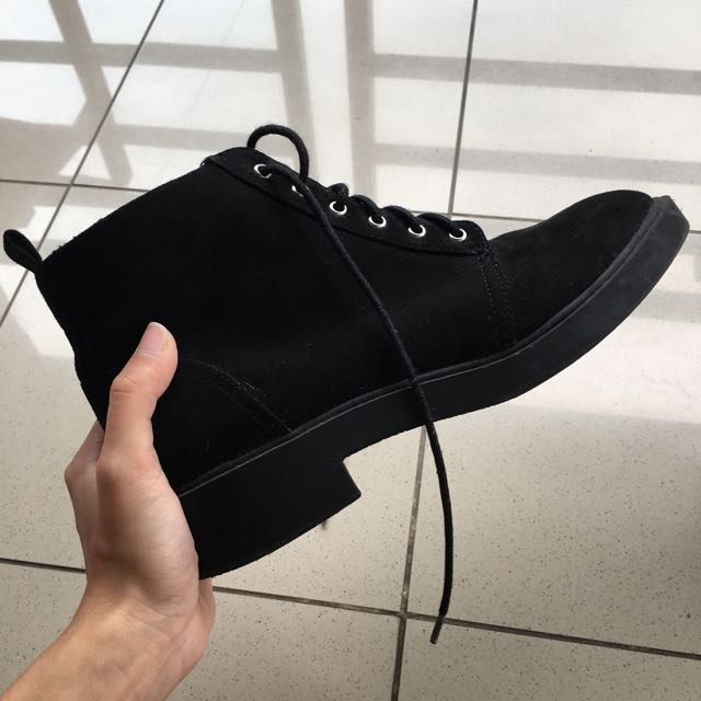 H&M Black Boots Heeled