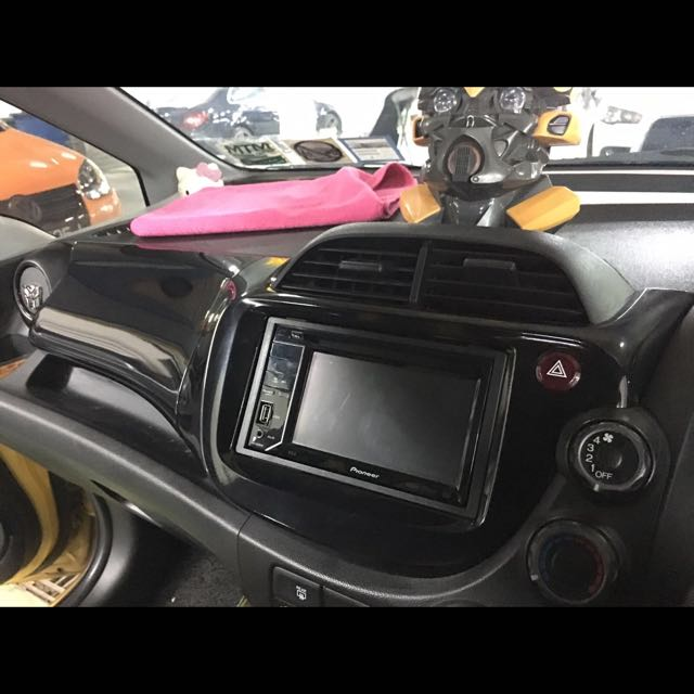 Honda Fit Interior Panels Wrapped Car Accessories On Carousell