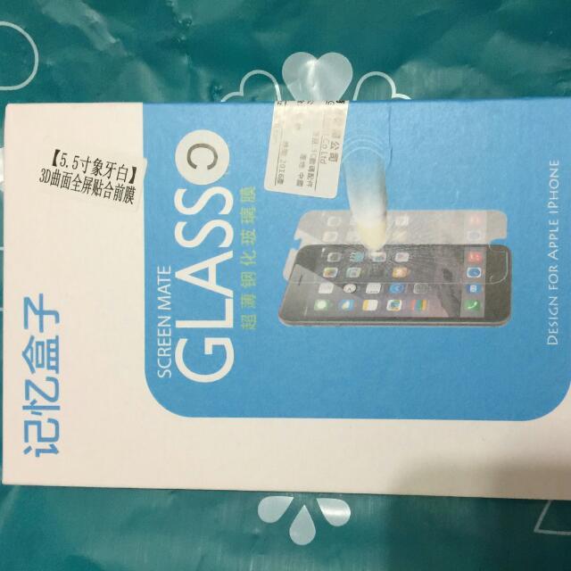 I Phone6 5.5吋鋼化玻璃保護貼