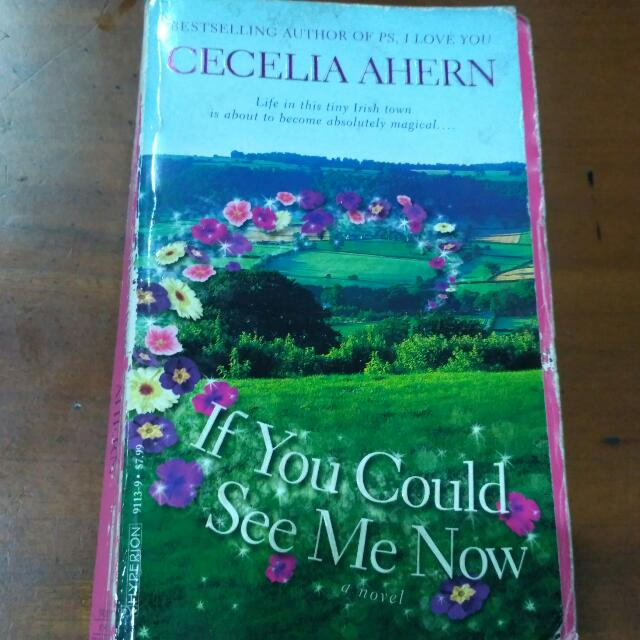 If You Could See Me Now - By Cecelia Ahern