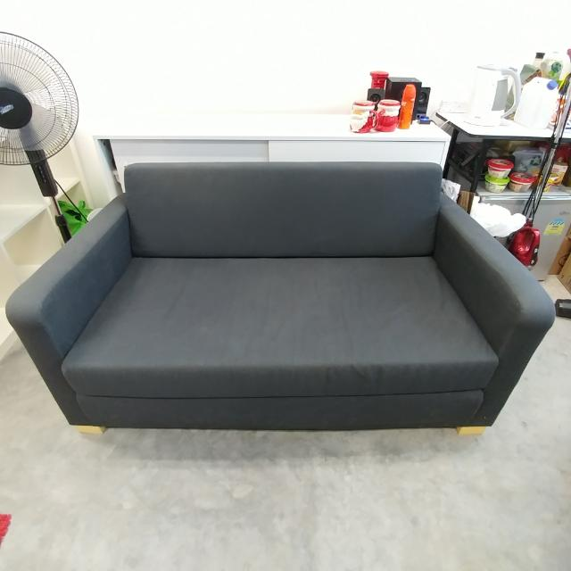 Strange Ikea Solsta 2 Seat Sofa Bed Furniture Sofas On Carousell Squirreltailoven Fun Painted Chair Ideas Images Squirreltailovenorg
