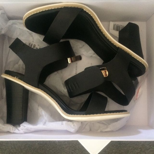 Jo Mercer Black Heels
