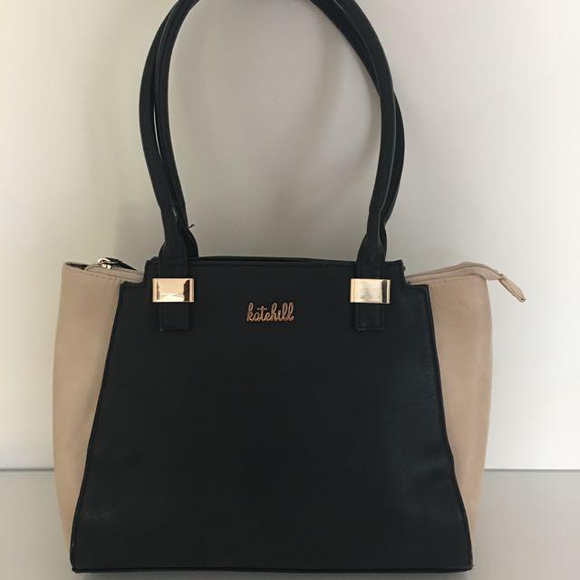 Katehill Two Tone Handbag