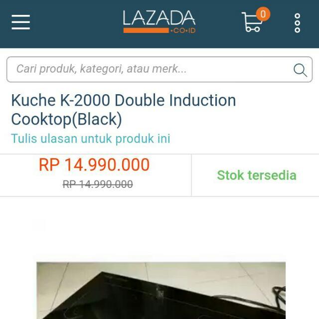 Küche Kompor Listrik K2000