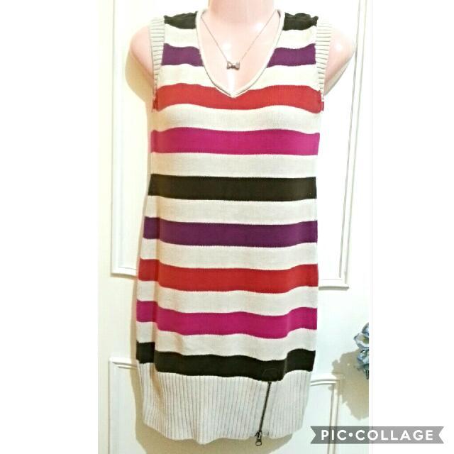 Knit top/mini dress