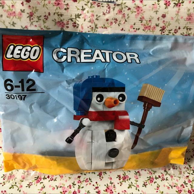 Lego creator 30197 雪人