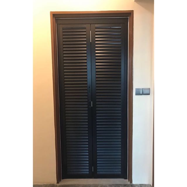 Louvre Bi Fold Door Furniture Home Decor On Carousell