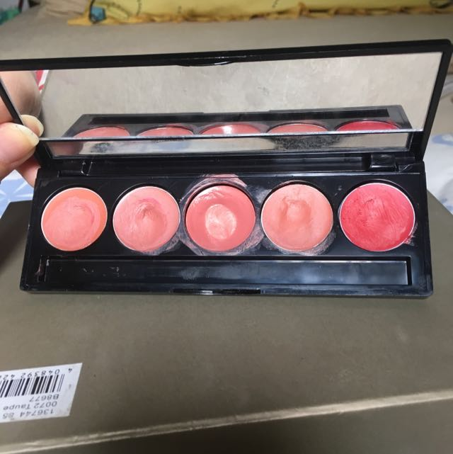 Make Over Lip Color Palette Peach