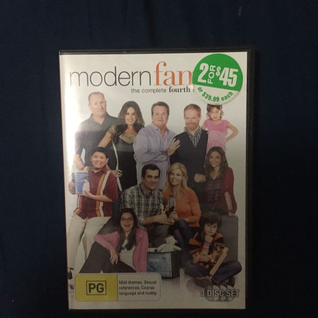 Modern Family Complete 4th Season