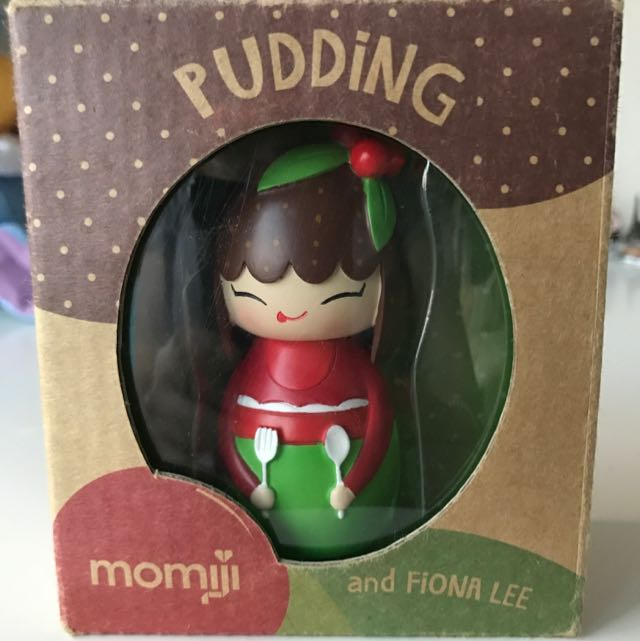 Momiji Pudding Wooden Doll