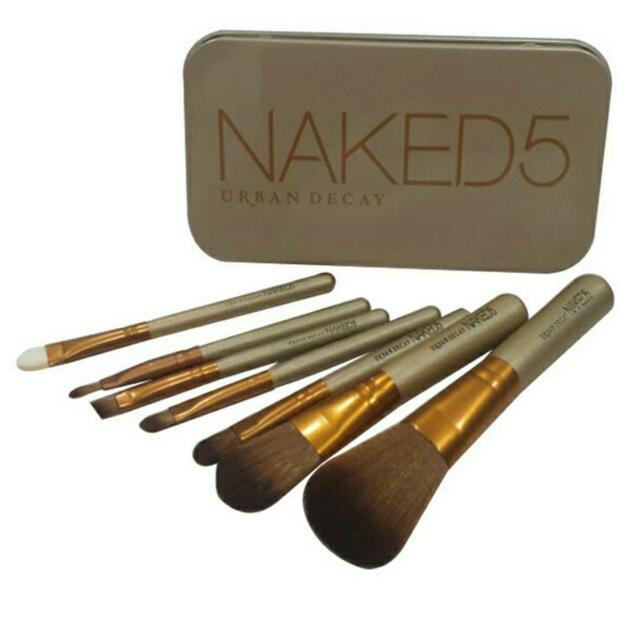 Naked5 Brush Set (7 pcs)