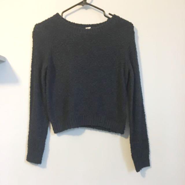 Navy H&M Sweater