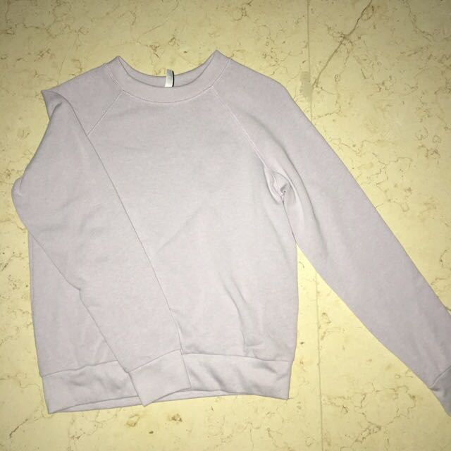 New H&M Pastel Purple Sweater