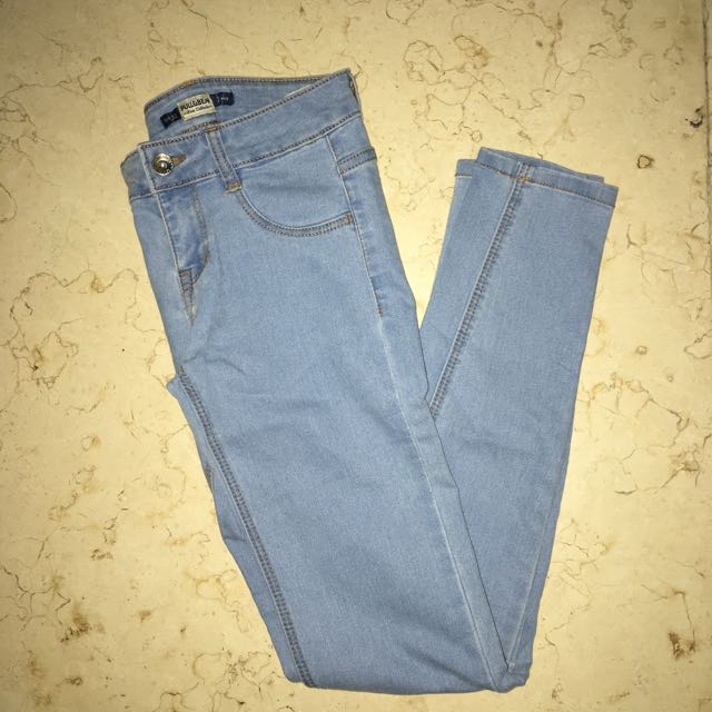 NEW Skinny Fit Light Blue Jeans PULL&BEAR