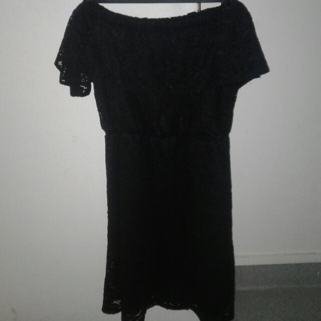 Off The Shoulder Short Dress