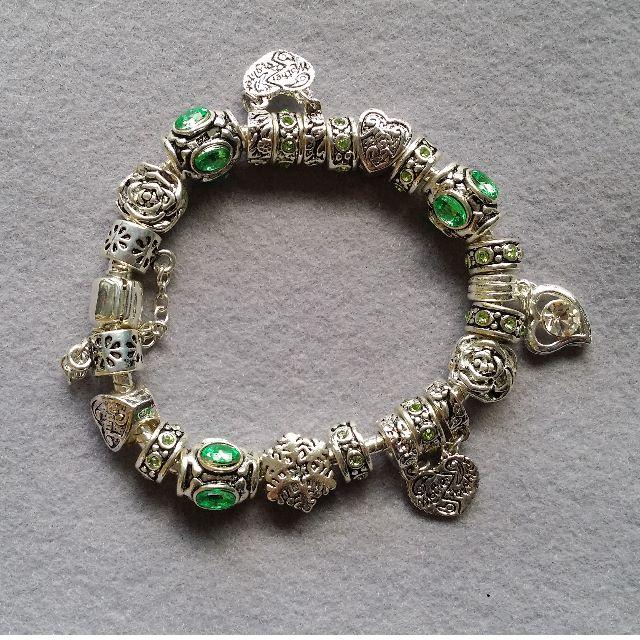 Pandora Inspired Charm Bracelet 14