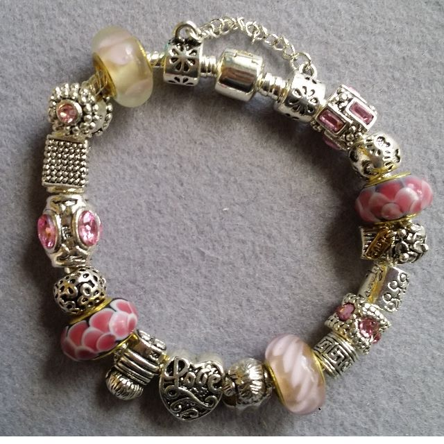 Pandora Inspired Charm Bracelet 16