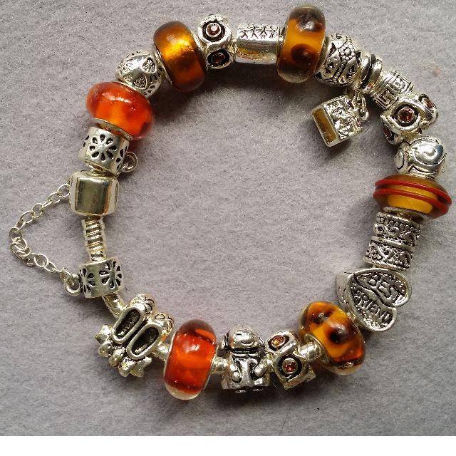 Pandora Inspired Charm Bracelet 17