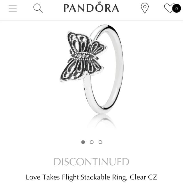 Pandora Love Takes Flight Ring