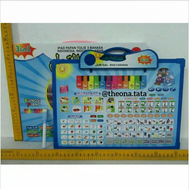 Playpad Anak Muslim 3 Bahasa