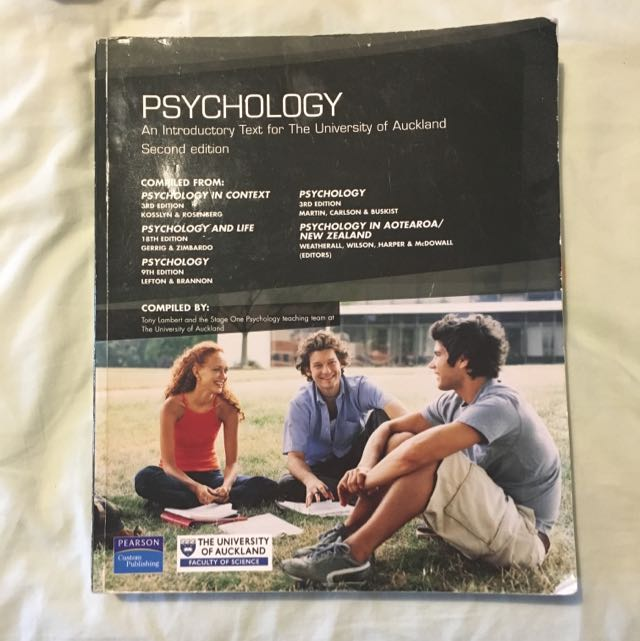 Psychology- An Intro Txt For UOA - 2nd Ed