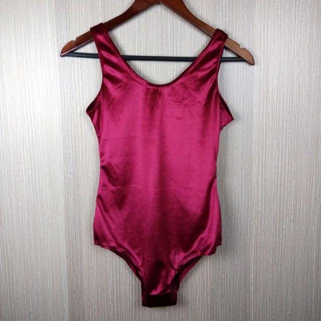 Red Velvet Bodysuit ✨