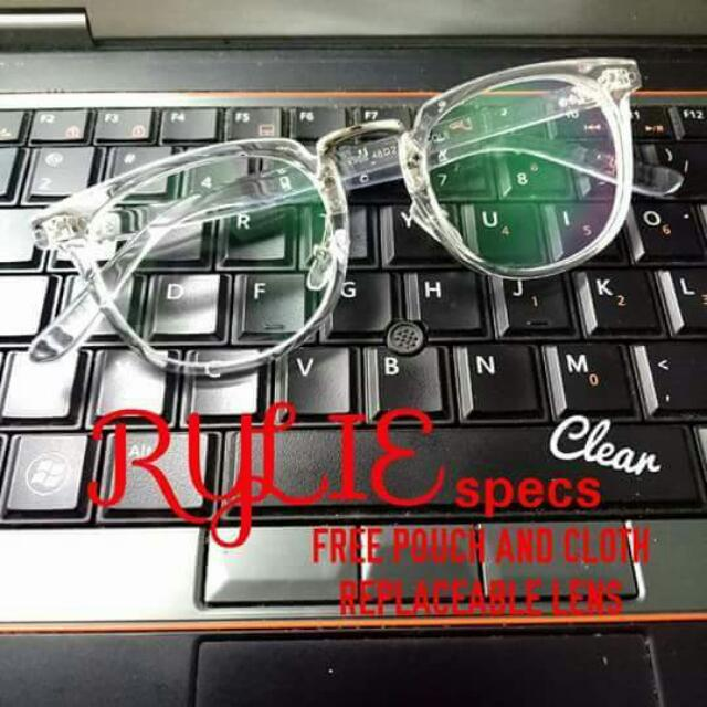 Rylie Specs Clear
