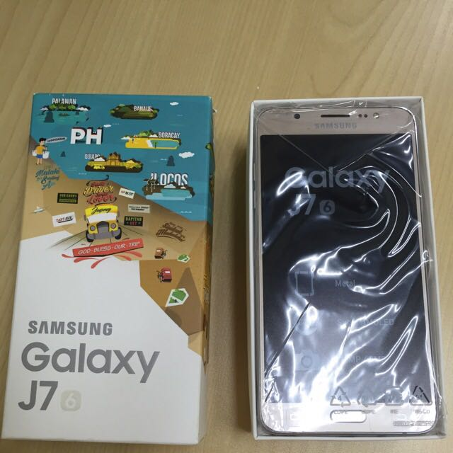 BrandNew Samsung Galaxy J7 2016 (gold) with FREEBIE!!!