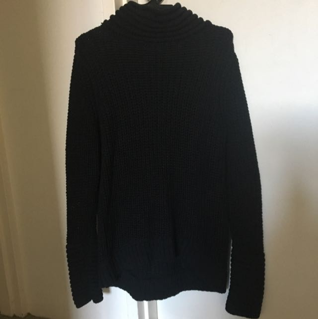 Sass and Bide Beautiful Watcher Knit, Black, Size Small