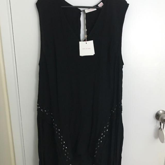 SASS AND BIDE BLACK DRESS