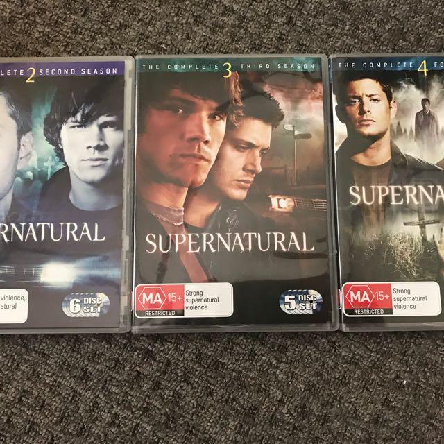 Seasons 2,3,4 Supernatural