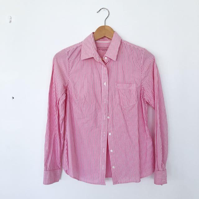 Sportscraft Oxford Shirt (Pink Stripes)