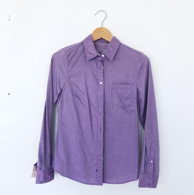Sportscraft Oxford Shirt (Purple)