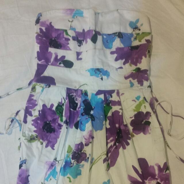 Strapless Party Dress Size 6