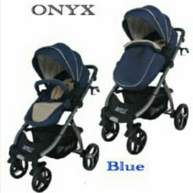 Stroller Onyx Abu Biru