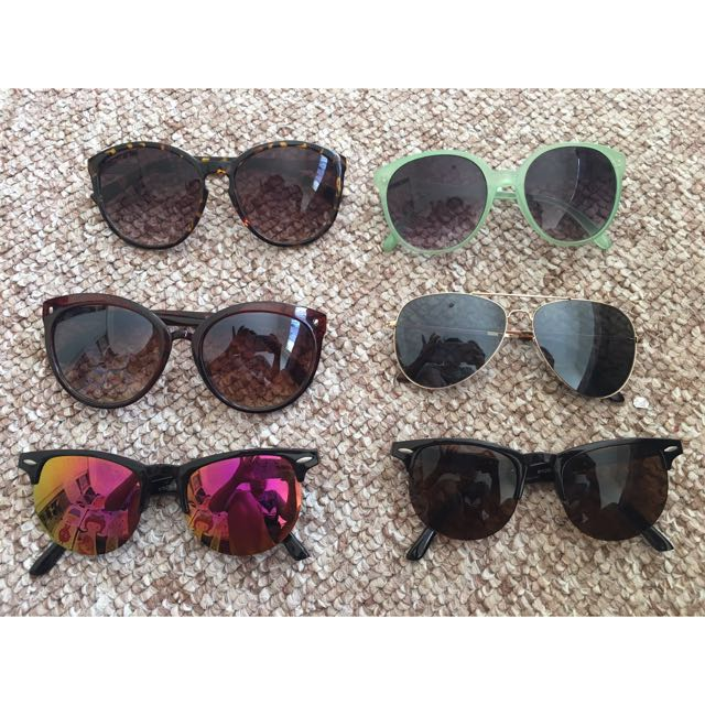 Sunglasses All For $5 For Remaining Sunglasses