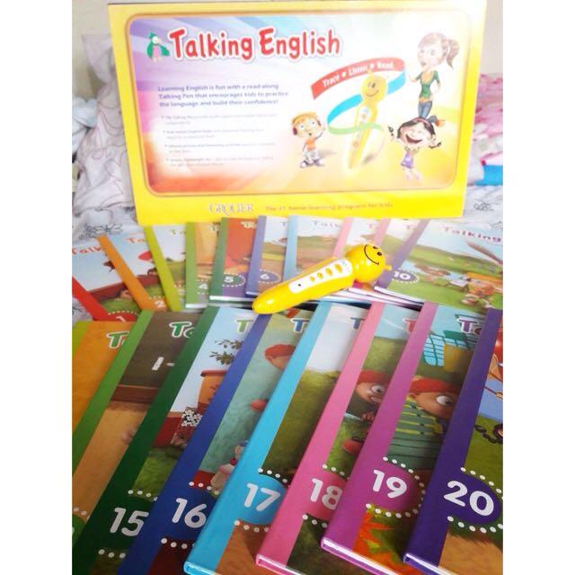 Talking English
