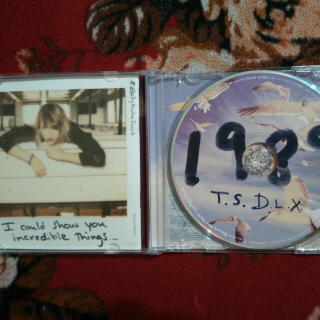 Taylor Swift 1989 DLX Album CD
