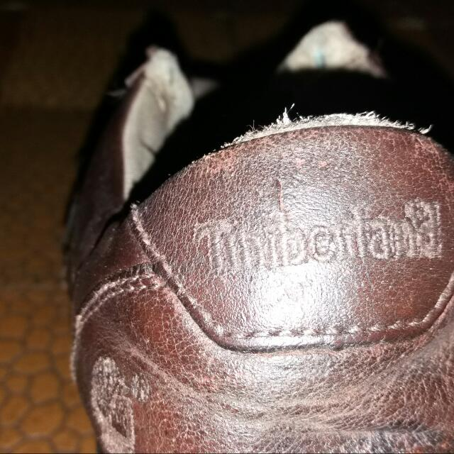 Timberland Brown Leather Shoes Original (Size 40)