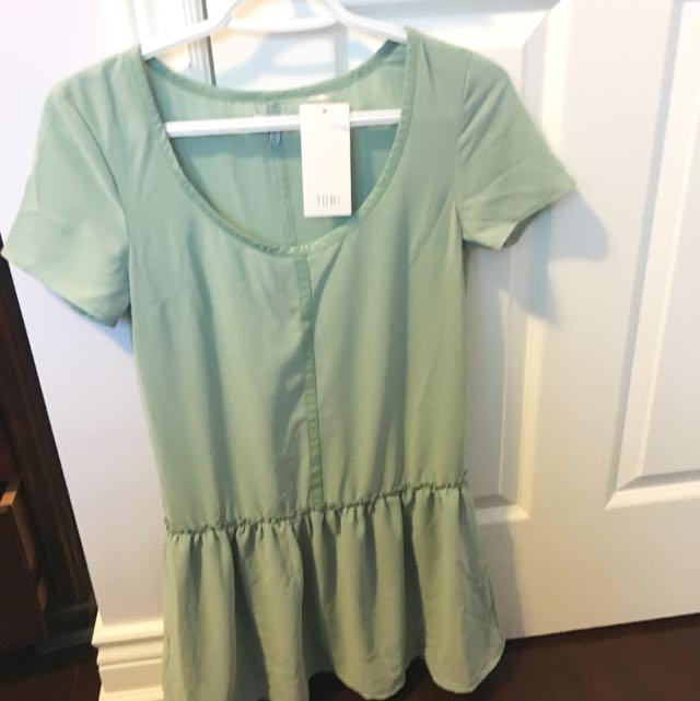 Tobi Mint Dress