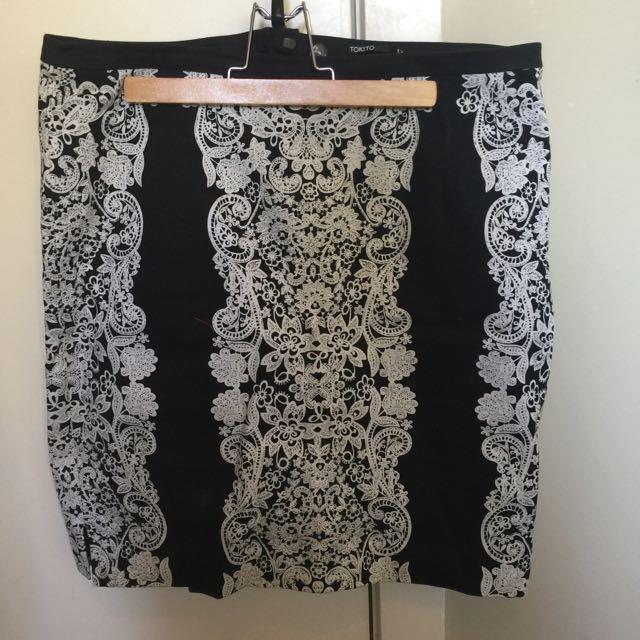 Tokito Pencil Skirt - Size 12