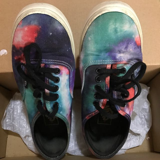 Vans Authentic Lo Pro in Galaxy Nebula/True White