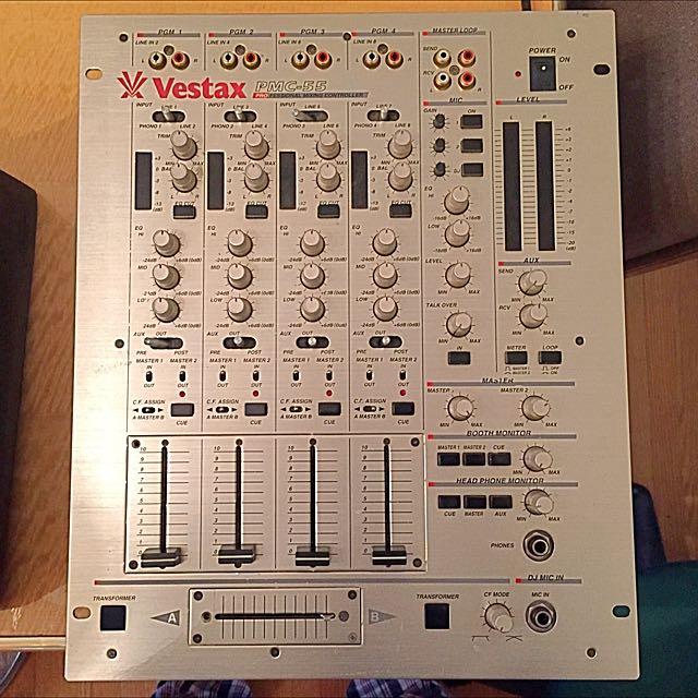 Vestax PMC-55 DJ Mixer