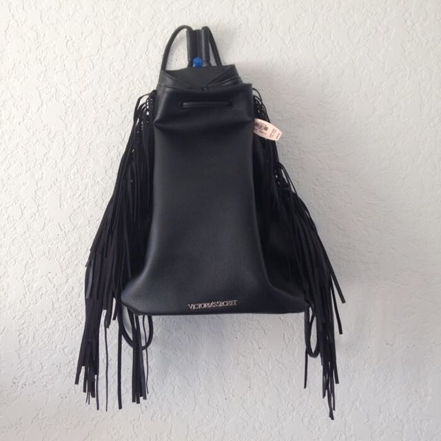 Victoria's Secret Tassels Backpack
