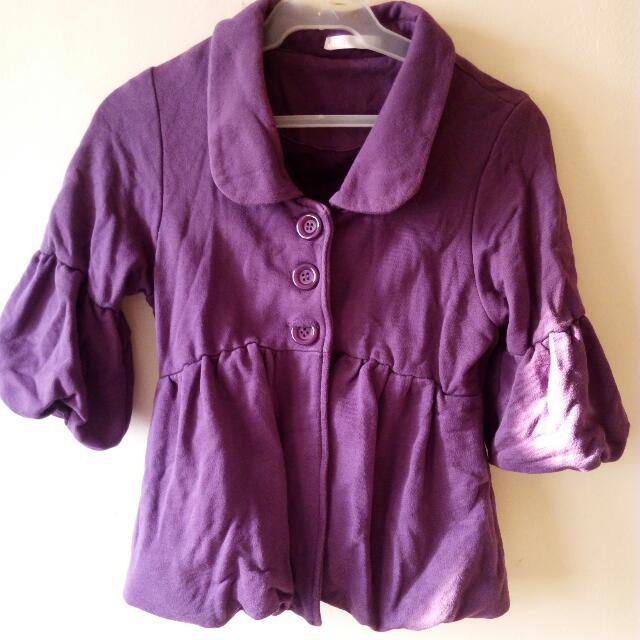 Violet Mid Coat