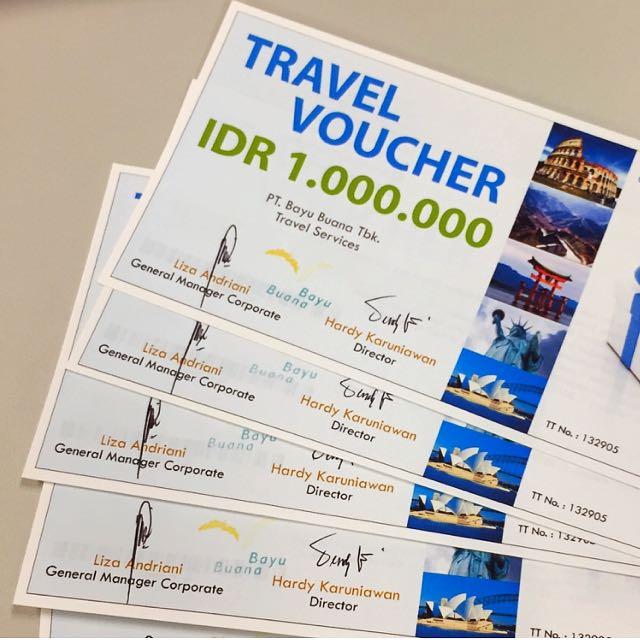 Voucher Travel Bayu Buana