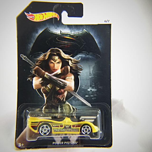 風火輪蝙蝠俠VS超人小汽車