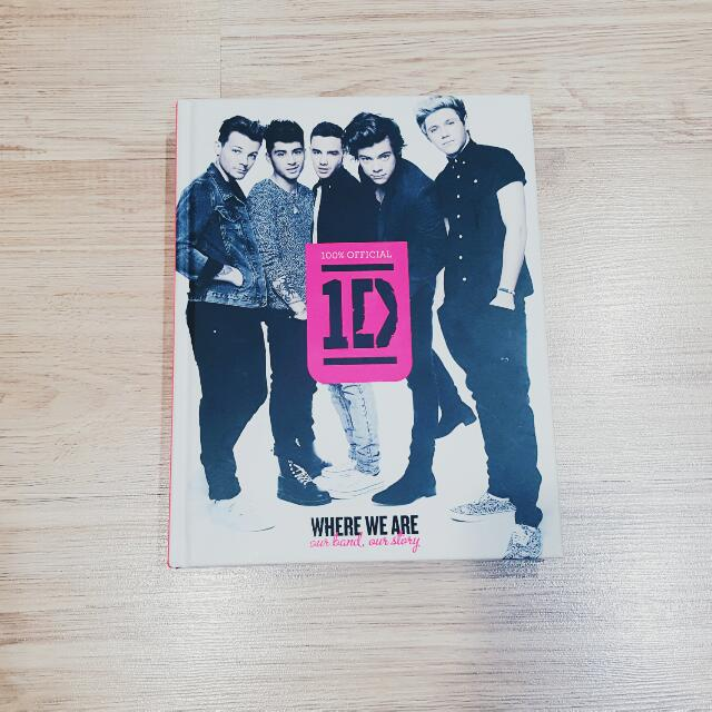 Where We Are One Direction Autobiography