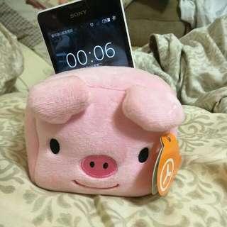 粉紅豬豬手機架
