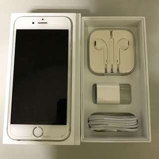 iPhone 6 16G 4.7吋 白銀灰